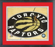 Toronto Raptors Center Court Framed Print