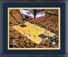 Indiana Pacers Bankers Life Fieldhouse Framed Print