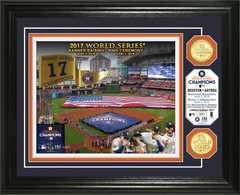 Houston Astros 2017 Banner Raising and Ring Ceremony Bronze Coin Photo Mint