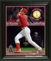 "Shohei Ohtani ""Designated Hitter"" MVP Bronze Coin Photo Mint"