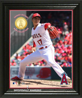 "Shohei Ohtani ""Ace"" MVP Bronze Coin Photo Mint"
