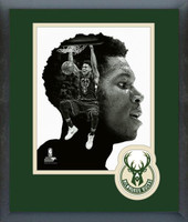 """The Greek Freak"" Giannis Antetokounmpo Profile Framed Photo"