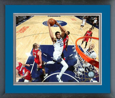 Minnesota Timberwolves Karl-Anthony Towns Framed Print