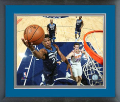 Minnesota Timberwolves Jimmy Butler Framed Print