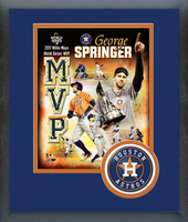 Houston Astros George Springer MVP Framed Composition