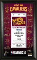 Cleveland Cavaliers 2018 NBA Finals Signature Ticket