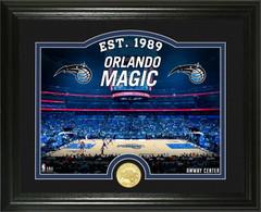 "Orlando Magic ""Court"" Bronze Coin Photo Mint"