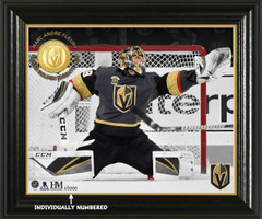 "Marc-Andre Fleury ""Elite Series"" Bronze Coin Photo Mint"
