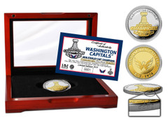 Washington Capitals 2018 Stanley Cup Champions Two-Tone Mint Coin