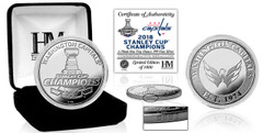 Washington Capitals 2018 Stanley Cup Champions Pure Silver Mint Coin