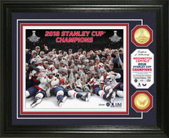 "Washington Capitals 2018 Stanley Cup Final Champions ""Celebration"" Bronze Coin Photo Mint"