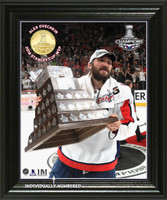 "Washington Capitals 2018 Stanley Cup Final ""MVP"" Bronze Coin Photo Mint"