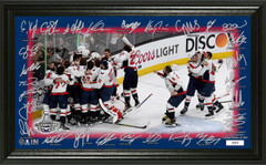 "Washington Capitals 2018 Stanley Cup Champions ""Celebration"" Signature Rink"