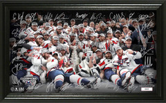 Washington Capitals 2018 Stanley Cup Champions Signature Rink