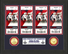Washington Capitals 2018 Stanley Cup Champions Ticket Collection