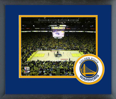 Golden State Warriors Oracle Arena Framed Photo