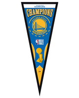 Golden State Warriors 2018 NBA Finals Framed Championship Pennant