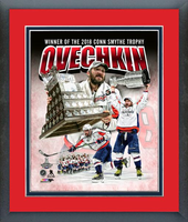 Washington Capitals Alex Ovechkin Conn Smythe Trophy Framed Composite