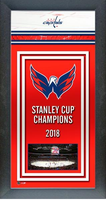 Washington Capitals Framed Championship Banner
