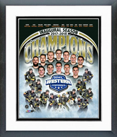 Vegas Golden Knights Inaugural Season and Western Championship Framed Print