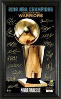 Golden State Warriors 2018 NBA Finals Champions Signature Trophy