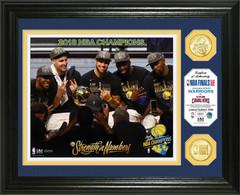 "Golden State Warriors 2018 NBA Finals Champions ""Celebration"" Bronze Coin Photo Mint"