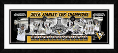 Pittsburgh Penguins 2016 Stanley Cup Framed Composite