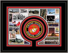 Marines Memories and Milestones Framed Picture
