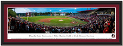 Florida State University Baseball Framed Panoramic