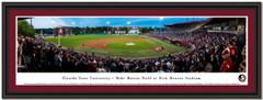 Florida State University Baseball Framed Panoramic