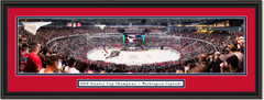 2018 Stanley Cup Washington Capitals Framed Panoramic