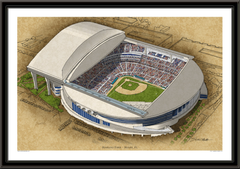 Marlins Park Large Illustration Home of the Miami Marlins