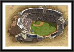 Petco Park Large Illustration Home of the San Diego Padres