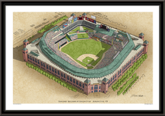 Rangers Ballpark Large Illustration Home of the Texas Rangers