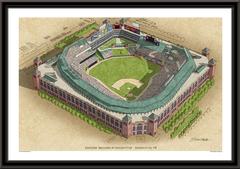 Rangers Ballpark Large Illustration Home of the Texas Rangers