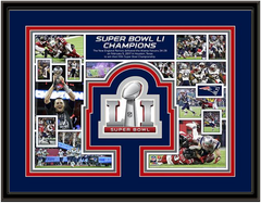 New England Patriots 2017 Super Bowl Framed Picture
