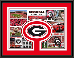 Georgia Bulldogs Milestones and Memories Framed Picture