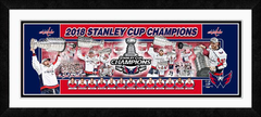 2018 Stanley Cup Champs Washington Capitals Photoramic Framed Photo Collage