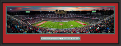 Stanford Cardinals Stadium Framed Panoramic Picture