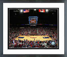 Philips Arena Home of the Atlanta Hawks Framed Photo