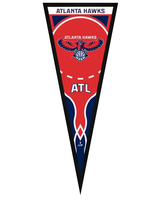 Atlanta Hawks Framed Pennant Graphic