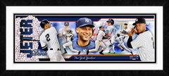 Derek Jeter Photoramic Framed Composite