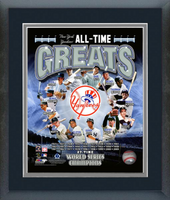 New York Yankees All Time Greats Framed Picture