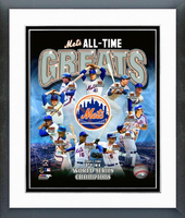 New York Mets All Time Greats Framed Picture