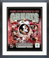 Florida State All Time Greats Framed Photo