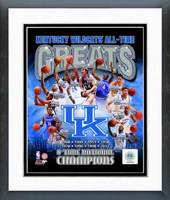 University of Kentucky All Time Greats Framed Photo