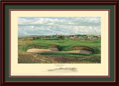 St. Andrews 14th & 4th Holes Framed Art Print