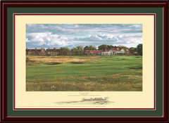 Muirfield 18th Hole Framed Art Print