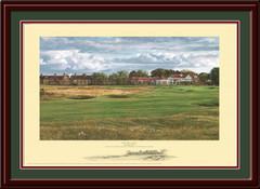 Muirfield 18th Hole Framed Art Print