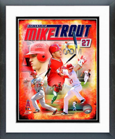 Mike Trout Composite Framed Photo